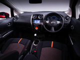 Nissan Note Dynamic UK-spec (E12) 2013 wallpapers