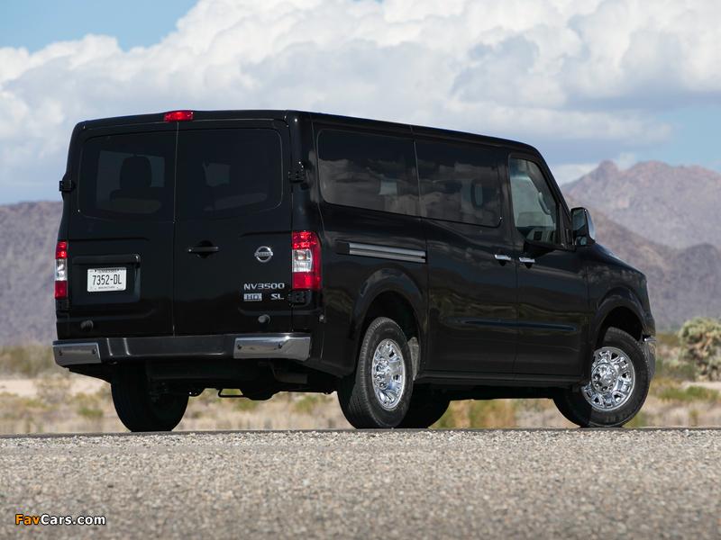 Images of Nissan NV 3500 Passenger (2011) (800 x 600)