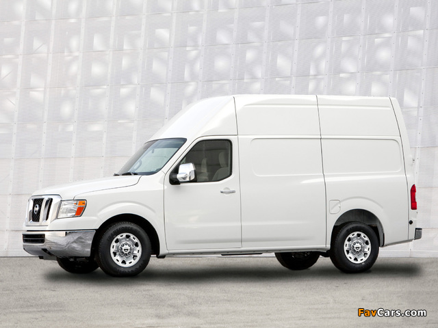 Pictures of Nissan NV2500 HD High Roof 2010 (640 x 480)