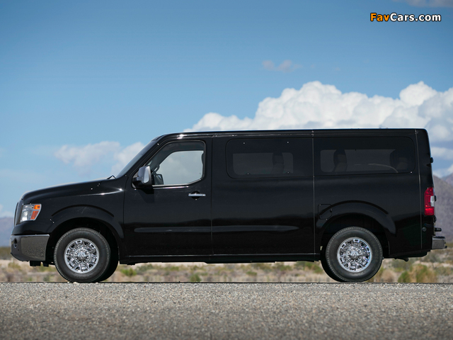 Nissan Nv 3500 >> Pictures of Nissan NV 3500 Passenger (2011) (640x480)