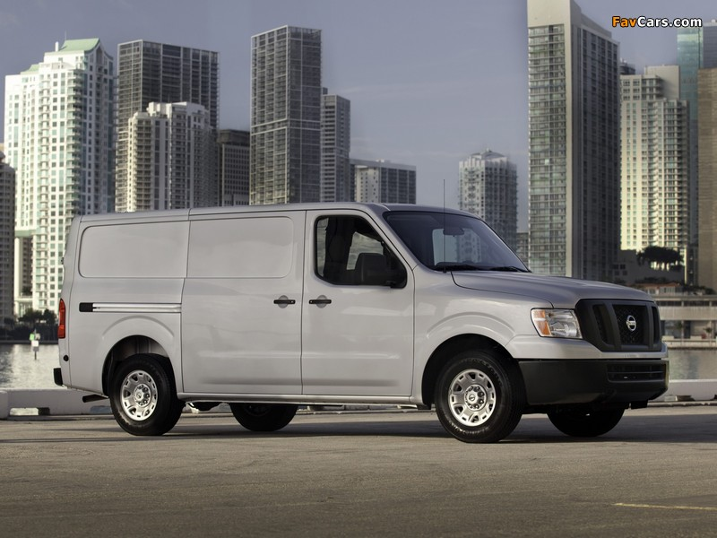 Nissan NV3500 HD Standard Roof 2010 wallpapers (800 x 600)