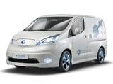 Nissan e-NV200 Van Concept 2012 images