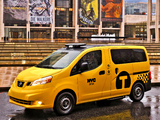 Nissan NV200 Taxi US-spec 2013 wallpapers