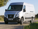 Nissan NV400 High Roof Van UK-spec 2010 photos