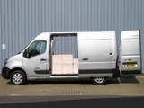 Nissan NV400 High Roof Van UK-spec 2010 wallpapers