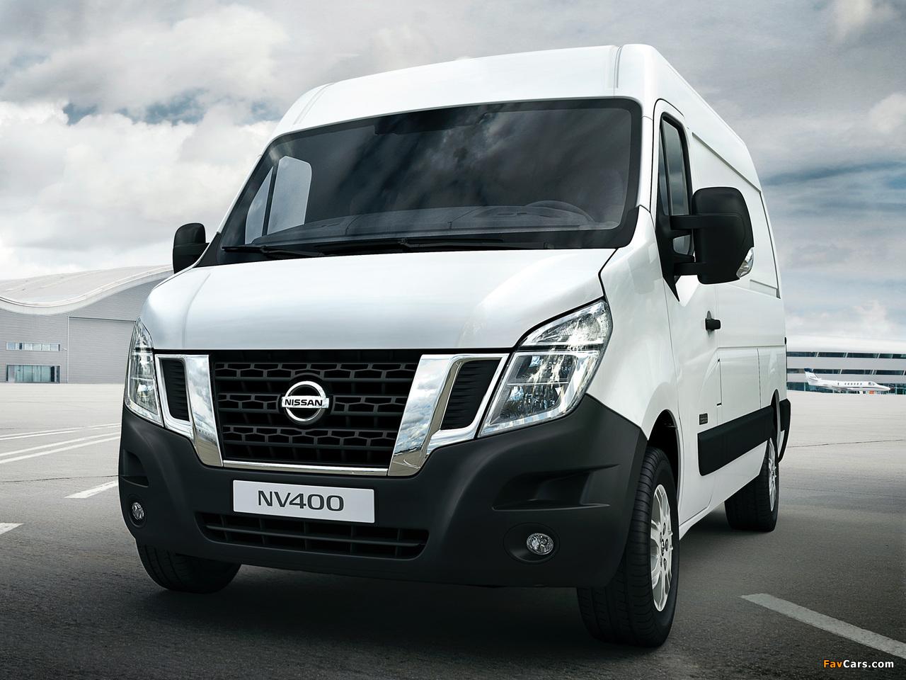 Photos of Nissan NV400 High Roof Van 2010 (1280 x 960)