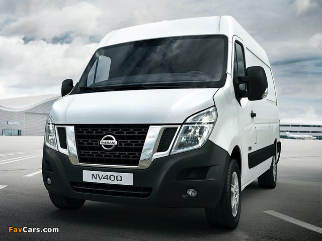 Photos of Nissan NV400 High Roof Van 2010 (640 x 480)