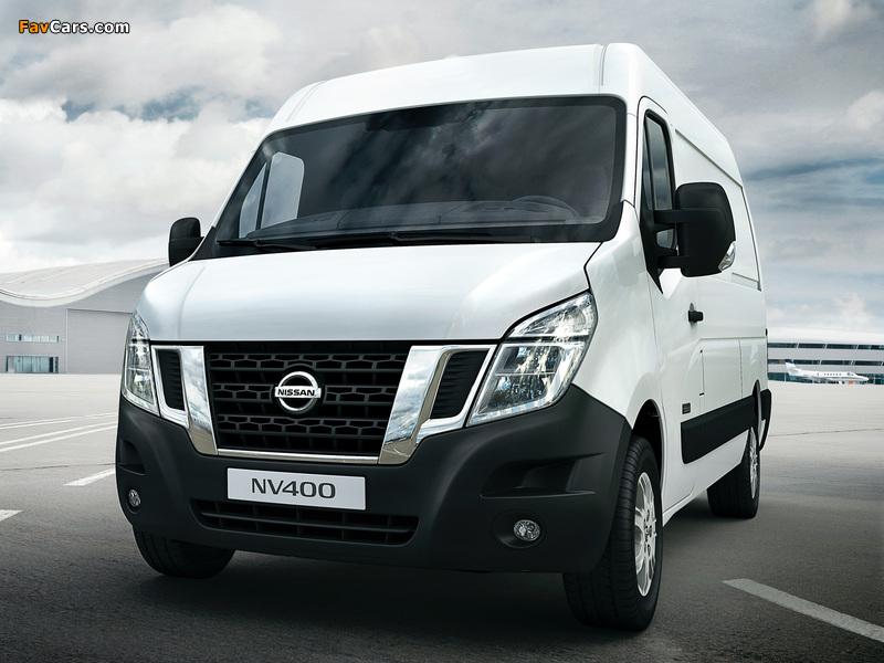Photos of Nissan NV400 High Roof Van 2010 (800 x 600)