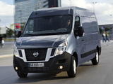 Nissan NV400 High Roof Van 2010 wallpapers