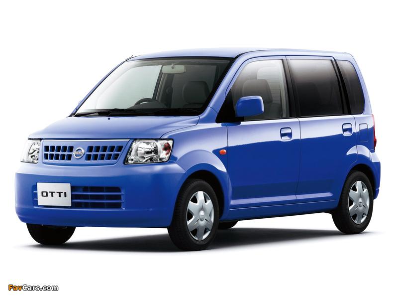 Photos of Nissan Otti (H91W) 2005–06 (800 x 600)