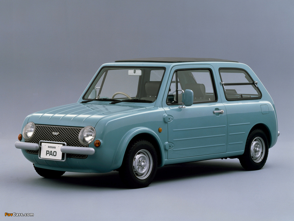 Nissan Pao Concept 1987 pictures (1024 x 768)