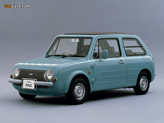 Nissan Pao Concept 1987 pictures (640 x 480)