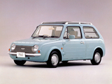 Pictures of Nissan Pao Canvas Top 1989–90