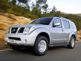 Nissan Pathfinder UK-spec (R51) 2004–10 images