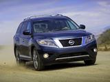Nissan Pathfinder US-spec (R52) 2012 images