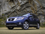 Nissan Pathfinder US-spec (R52) 2012 pictures