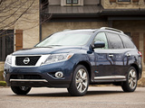 Nissan Pathfinder Hybrid (R52) 2013 pictures