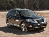 Nissan Pathfinder R52 (2013) wallpapers