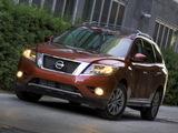 Pictures of Nissan Pathfinder US-spec (R52) 2012