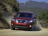 Nissan Pathfinder US-spec (R52) 2012 wallpapers