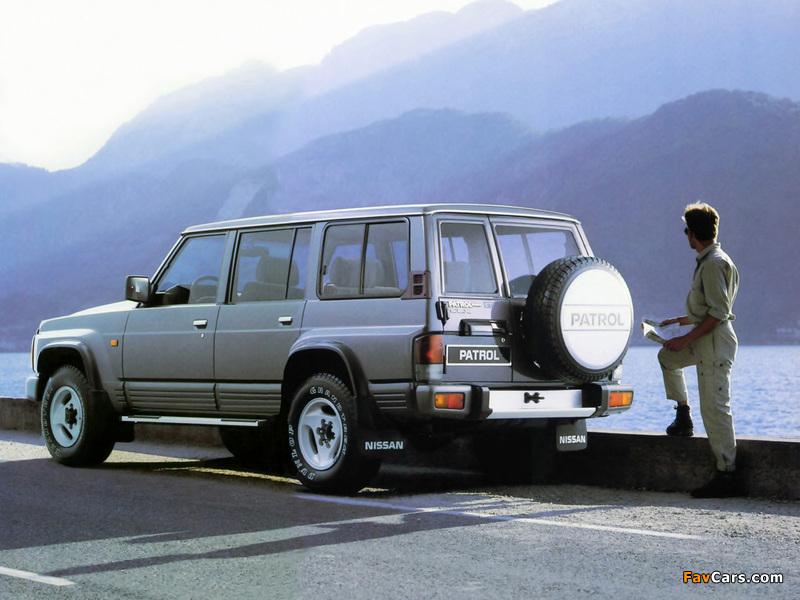 Nissan Patrol GR 5-door (Y60) 1987–97 wallpapers (800 x 600)