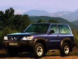 Nissan Patrol GR 3-door (Y61) 1997–2001 images