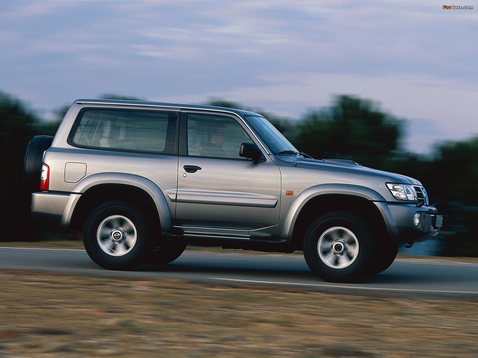 Nissan Car 2005 >> Nissan Patrol GR 3-door (Y61) 2001–04 photos (1600x1200)