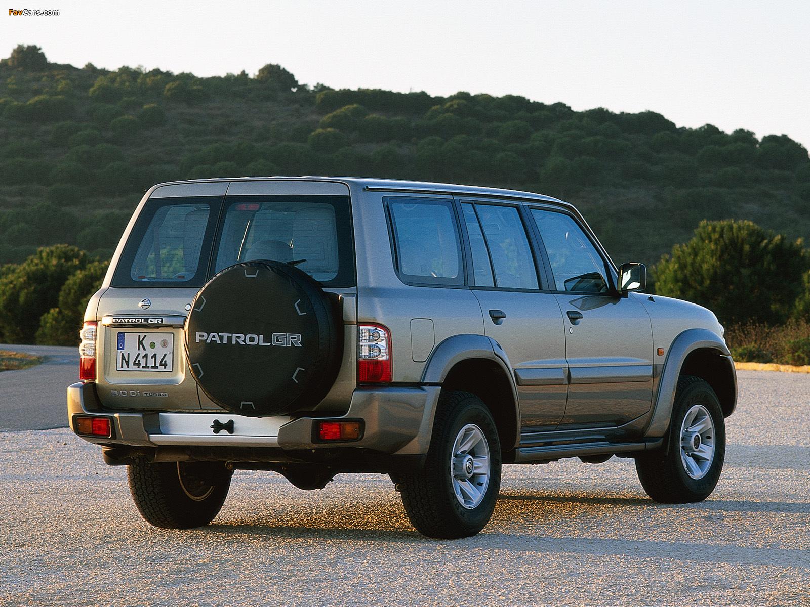 Nissan Patrol Gr 5 Door Y61 2001 04 Wallpapers 1600x1200