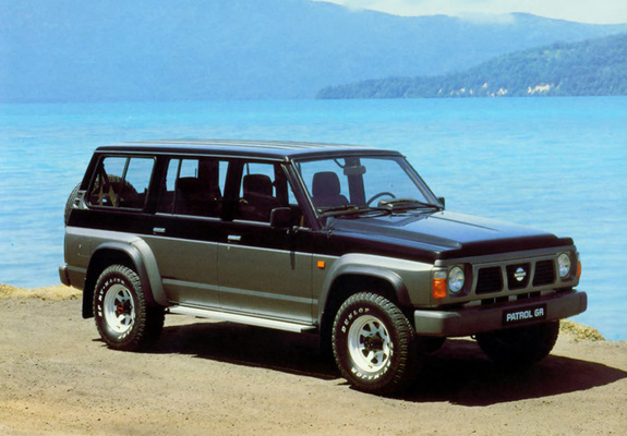 photos of nissan patrol gr 5 door y60 1987 97. Black Bedroom Furniture Sets. Home Design Ideas
