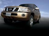 Photos of Nissan Patrol 5-door UAE-spec (Y61) 2004–10