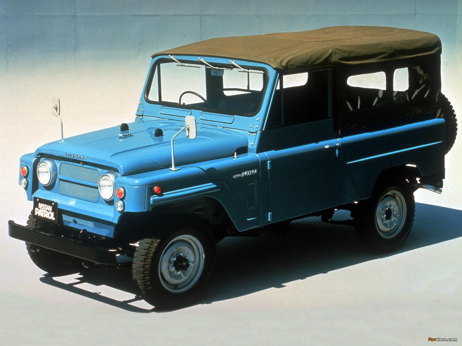 Nissan Patrol LWB Soft Top (G60) 1960–84 wallpapers (1600 x 1200)