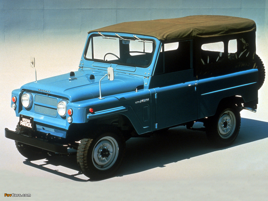 Nissan Patrol LWB Soft Top (G60) 1960–84 wallpapers (1024 x 768)