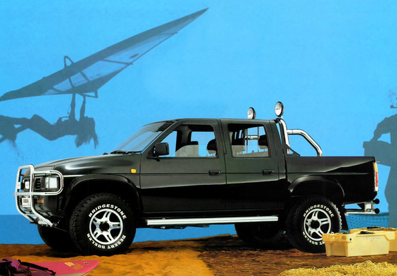 Images Of Nissan Pickup 4wd Crew Cab D21 1992 97