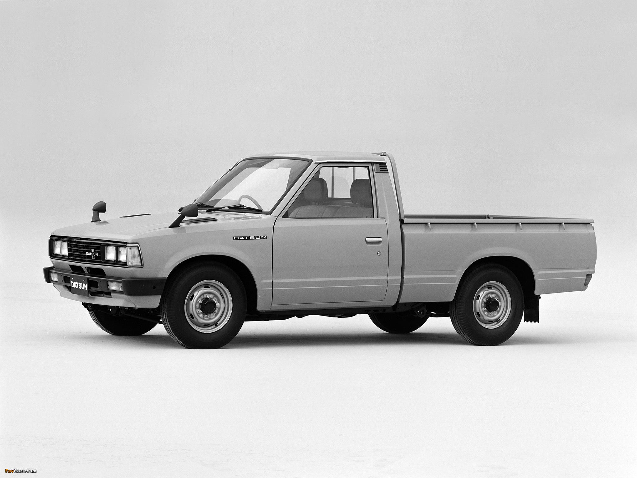Datsun Pickup Regular Cab JP-spec (720) 1979–85 images ...
