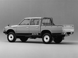 Datsun Pickup 4WD Double Cab JP-spec (720) 1980–85 photos