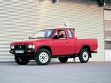 Nissan Pickup 4WD Regular Cab (D21) 1992–97 images
