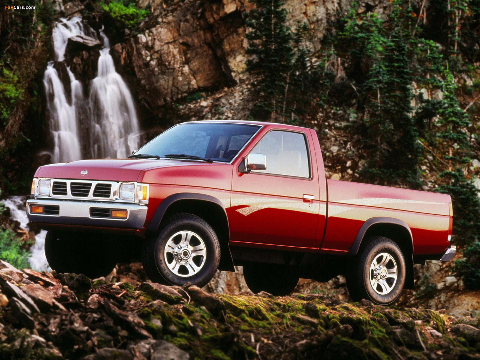 Nissan Pickup 4WD Regular Cab (D21) 1992–97 wallpapers (1600 x 1200