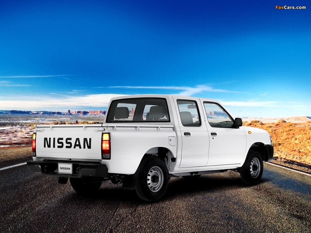Nissan Pick Up D22 >> Nissan Pickup Crew Cab (D22) 2001–08 wallpapers (1024x768)