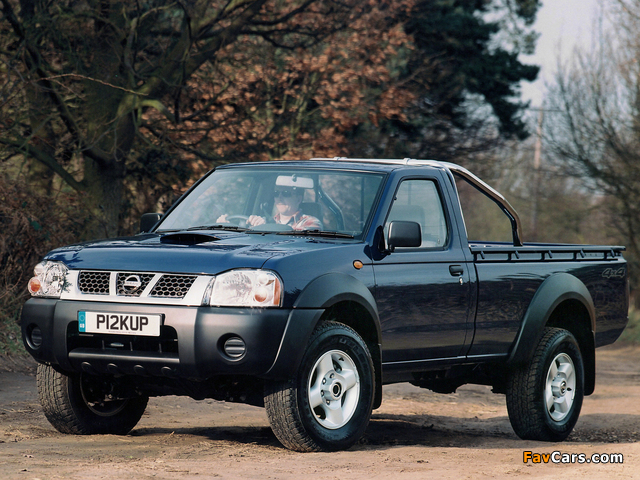 Pictures of Nissan Pickup Single Cab UK-spec (D22) 2001–05 (640 x 480)