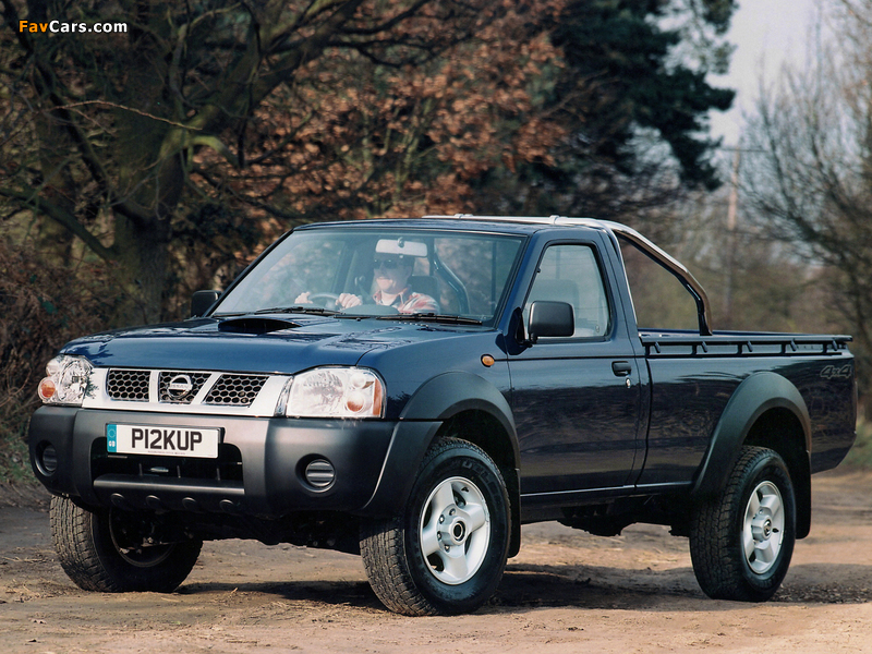 Pictures of Nissan Pickup Single Cab UK-spec (D22) 2001–05 (800 x 600)