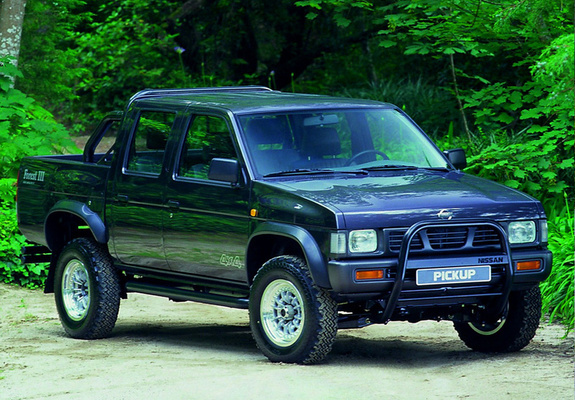 nissan pickup 4wd crew cab forest iii d21 1997 wallpapers. Black Bedroom Furniture Sets. Home Design Ideas