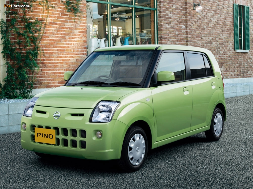 Images of Nissan Pino 2007–10 (1024 x 768)
