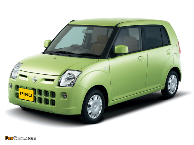 Nissan Pino 2007–10 images (640 x 480)