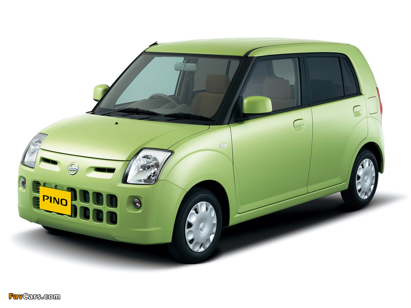 Nissan Pino 2007–10 images (800 x 600)