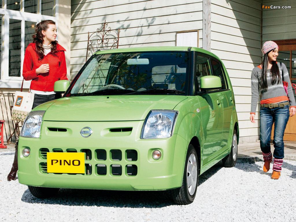 Photos of Nissan Pino 2007–10 (1024 x 768)