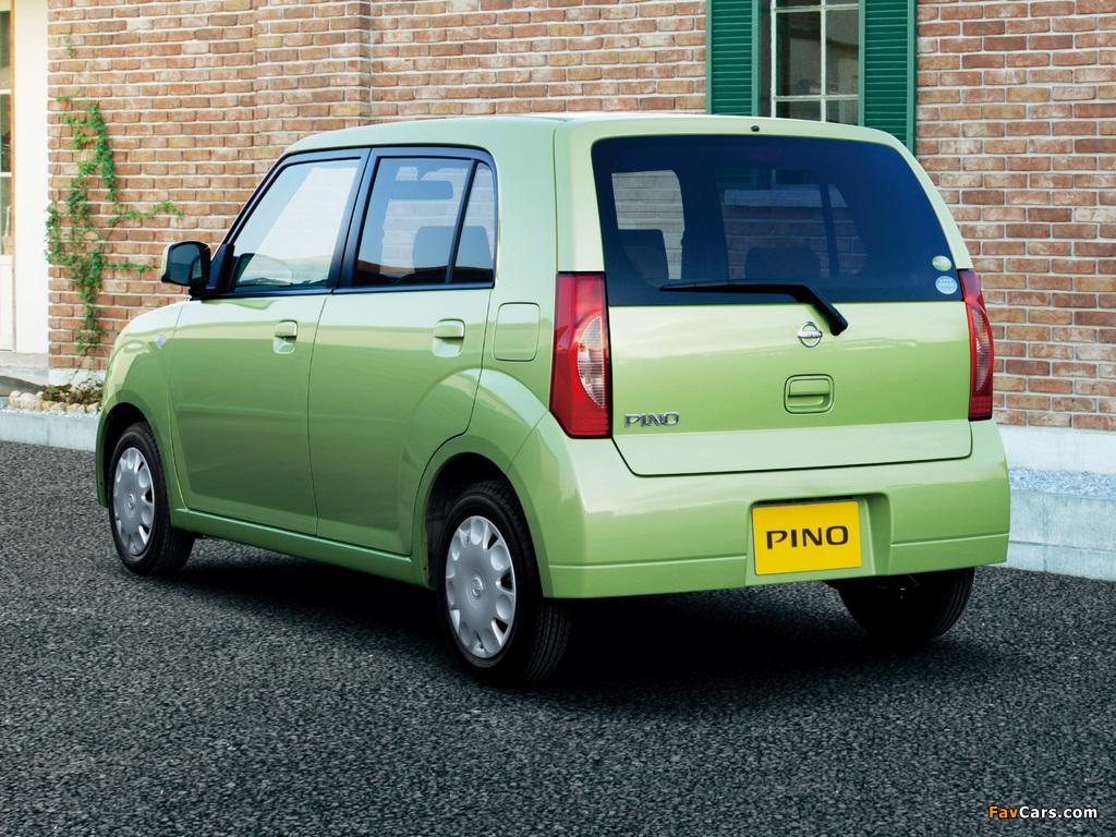 Nissan Pino 2007–10 wallpapers (1024 x 768)