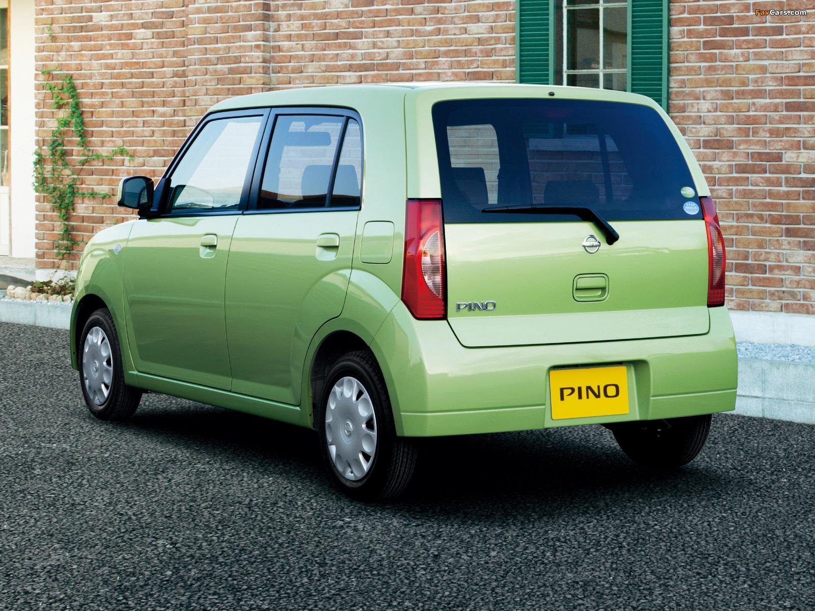 Nissan Pino 2007–10 wallpapers (1600 x 1200)