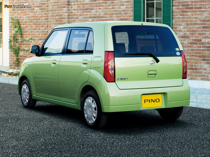 Nissan Pino 2007–10 wallpapers (800 x 600)