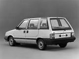Nissan Prairie 1500 JW-L (M10) 1982–88 wallpapers