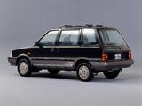 Nissan Prairie 4WD Nordica (M10) 1987 photos